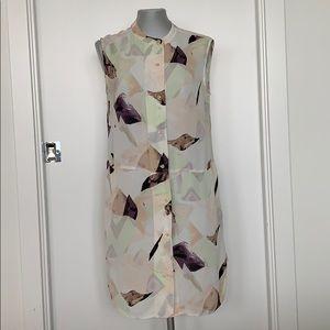 Wilfred pastel print silk dress